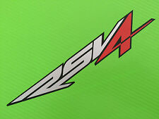 RSV4 Seat unit tail fairing logo decal Sticker for Road Race or Track Bike #17