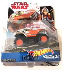 Hot Wheels Star Wars The Last Jedi All Terrain Luke Skywalker - Mib - New