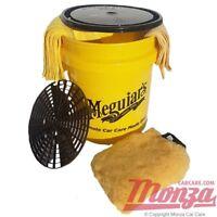 NEW!! 2018 Meguiars Ultimate Single Swirl Free Car Wash Bucket Complete Kit