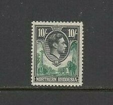 Northern Rhodesia 1938-52 10/- very lightly mounted mint SG 44