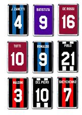 Italian Football Inspired Fridge Magnets, Football Shirt Inspired Magnet Choice