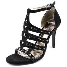 Sandalias y chanclas de mujer de color principal negro de lona talla 37