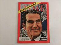 TIME MAGAZINE December 21 1970 Admiral Zumwalt, Willy Brandt Kneeling in Warsaw