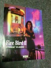 NSM FIREBIRD 2 HYPERBEAM CD JUXEBOX flyer- good original