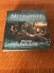 Android Netrunner Reign and Reverie Deluxe Box Expansion - Brand New In Shrink