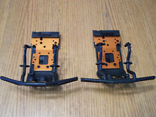 HPI Savage Flux XL Front & Rear Bumper Skid Plate Bulkhead Brace 4.6 5.9 Octane