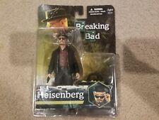 Breaking Bad Heisenberg NIB collectable figure w/ gym bag, hat, glasses, Mezco