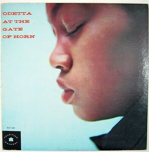ODETTA Odetta At The Gate Of Horn LP 1966 FOLK VG++ NM-