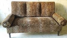 Canapé art déco 1900 1930 léopard original design