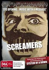 System Of A Down - Screamers (DVD, 2010) - Region All
