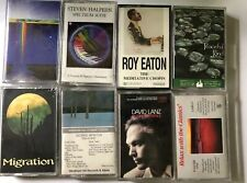 Lot Of 8 Sealed Cassette Tapes Vanfleet Winston Lanz Eaton Halpern Relax Classic