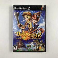 Dark Cloud 2 Black Label Brand New Factory Sealed Y-Fold Sony Playstation 2 PS2