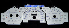 For Ford Taurus SHO 96-99 Silver Face Glow Red Blue Reverse Glow Gauge