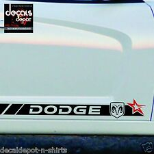 Fits DODGE Charger RAM Avenger Challenger SXT RT SRT ROCKER PANEL 2005 to 2017