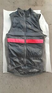 EUC! Gray/Pink Rapha Men's Brevet Insulated Gilet Cycling Vest Men's extra small