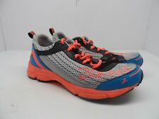 Zoot Women's Tempo Trainer Running Shoe Silver/Atomic Blue/Fiery Coral Size 8.5M