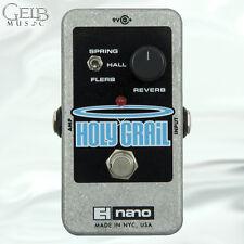Electro-Harmonix Holy Grail Nano Reverb Guitar Effects Pedal - HOLYGRAILNANO