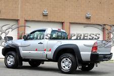 "2005-2015 Toyota Tacoma Regular Cab 6.5' SB Flat Chrome Body Side Molding 2""Trim"