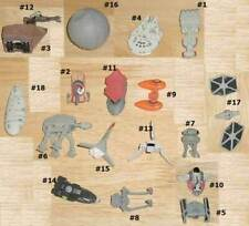 STAR WARS MICRO MACHINES CHOOSE FROM Death Star Rebel Transport Mill Falcon more