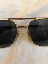 L'amy Vintage Aviator Sunglasses Gold