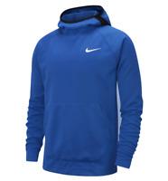 Nike Spotlight Men's Basketball Hoodie AT3236-480 Blue Black size L Large