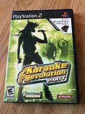 Karaoke Revolution Party (Sony PlayStation 2, 2005) Ps2 Game Only BT1