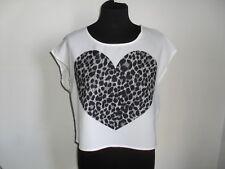 Maglietta  T-shirt  DIVIDED BY H&M CON STAMPA   Tg. 38 ITA  PREZZO AFFARE