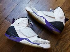 Air Jordan 2011 Son Of Mars Mens High Top Grape Cement Size 12