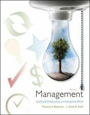 Management : Leading & Collaborating in the Competitive World by Thomas Bat