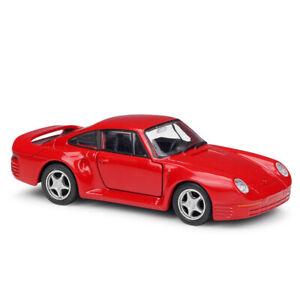 Willie 1: 36 Porsche 959 sports car simulation alloy car model pull back car