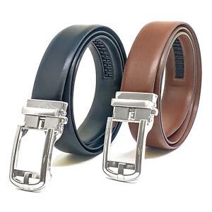 NYBC Afton Ratchet Belt Mens Belt  Automatic Track Belts Snug Fit Made in USA