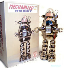 Robby the Robot Japan Mechanized II Osaka Tin Toy Chrome - Metal House