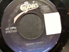 "CHEAP TRICK 45 RPM ""Ghost Town"" & ""Wrong Side of Love"" VG Condition"