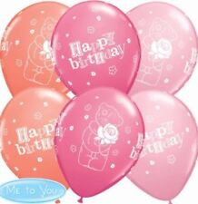 Me to You Tatty Teddy  Happy Birthday latex balloons x 5