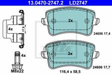 Bremsbelagsatz Scheibenbremse ATE Ceramic - ATE 13.0470-2747.2