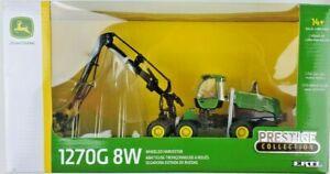 Ertl Prestige 1:50 Scale John Deere 1270G 8W Wheeled Harvester