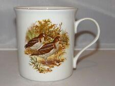 Crown Trent Fine Bone China Bird Birds Thrasher 10oz. Coffee Mug Tea Cup