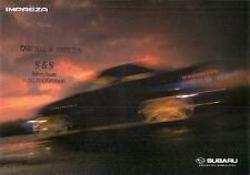 Subaru Impreza 2000-01 UK Market Sales Brochure 1.6 TS 2.0 GX 2.0 WRX