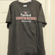 MLB Washington Nationals Baseball Shirt New Womens XL