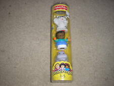 New Fisher Price Little People Tube Zoo Hippo Tiger Boy