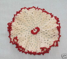 Vintage Hand Crocheted Decorative Doily Frilly Edges
