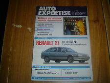REVUE TECHNIQUE AUTO EXPERTISE BERLINES RENAULT 21 5 PORTES ESSENCE ET DIESEL