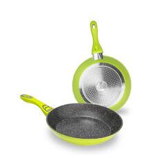 Juego de Sartenes de Aluminio Forjado Revestimiento Piedra Apto todas Cocinas