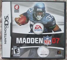 Nintendo DS Madden 07 (Manual, box and game)