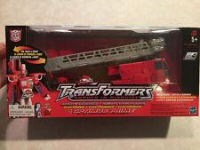 Transformers 2001 RID Optimus Prime Super Class Figure w/ Box & Accessories NICE