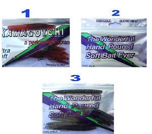 NO LOGO ZZB-Lure Color : Brown 4 Pz//Lotto Esche Morbide Esche Silicone Verme 10Cm 10G Esche da Pesca Attraente Gambero Odore Sale Wobbler Jig Girevole Bass Attrezzatura da Pesca