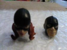 Hasbro Marvel Legends Marvel Girl Head/Jean Grey+1st Class Beast Hank McCoy Head