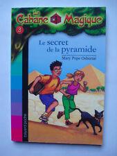 "Livre ""la cabane magique"" N°3 LE SECRET DE LA PYRAMIDE Bayard poche"