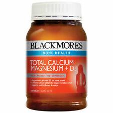 Blackmores 200 Tablets Total Calcium Magnesium + D3