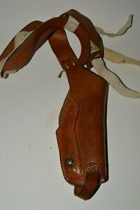 Vintage HUNTER 33-30-54M Leather Shoulder Strap Pistol Gun Holster Detective